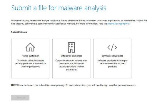 Форма сообщения о срабатывании Windows Defender